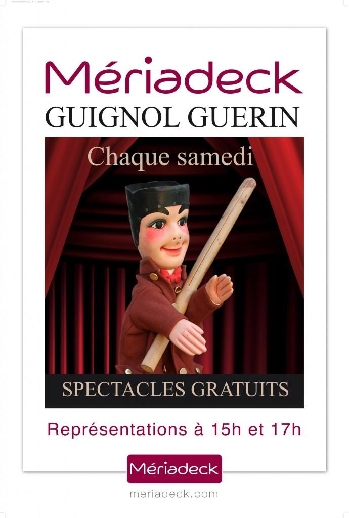 Le Guignol Guérin à Merideck, sortie enfants à Bordeaux.